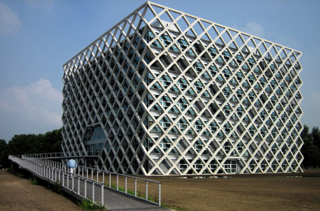 The Atlas Building of Wageningen University and Research Center, is an environmental research complex in Wageningen, the Netherlands